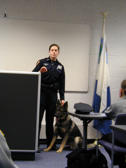 town of fishkill police cadets demostrations guest